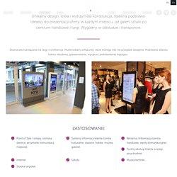 Infokioski i totemy - multiTap - technologie dotykowe / witryna interaktywna / stół multimedialny