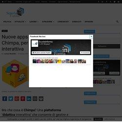 Nuove apps per Animatori Digitali: Chimpa, per una didattica interattiva