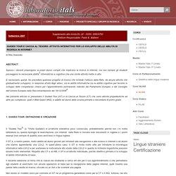 Guided Tour e caccia al tesoro: attività interattive per lo sviluppo delle abilità di ricerca in internet