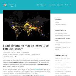 Mappe interattive, i dati prendono vita con Metrocosm