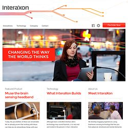 InteraXon Website