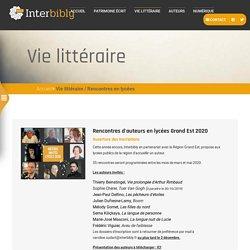 Interbibly - Vie littéraire
