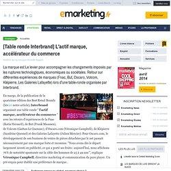 [Table ronde Interbrand] L'actif marque, accélérateur du commerce