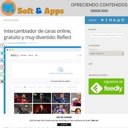Intercambiador de caras online, gratuito y muy divertido: Reflect