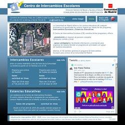 CIE. Centro de intercambios Escolares de la Comunidad de Madrid