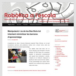Espai d'intercanvi de recursos i experiències de robòtica a l'educació infantil i primària