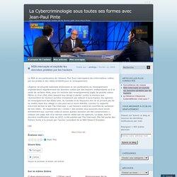 La Cybercriminologie sous toutes ses formes avec Jean-Paul Pinte