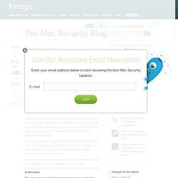 Ventir Trojan Intercepts Keystrokes from Mac OS X Computers