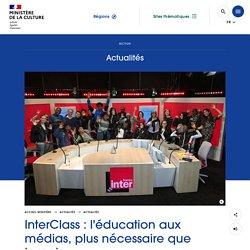InterClass : l'éducation aux médias, plus nécessaire que jamais