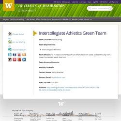 Intercollegiate Athletics Green Team