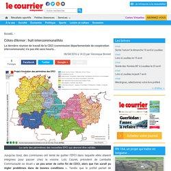 Côtes d'Armor : huit intercommunalités « Article « Le Courrier Indépendant