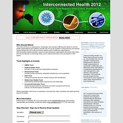 SOA in Healthcare Conference