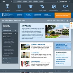 American InterContinental University – AIU Atlanta Campus Homepage