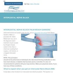 Intercostal Nerve Block Palm Beach Gardens