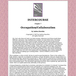 Intercourse: Occupation/Collaboration (1 of 2)