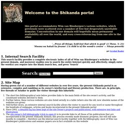 Index: Welcome to www.shikanda.net, a portal to Wim van Binsbergen's websites on intercultural philosophy, African religion, ethnicity, Afrocentricity, Ancient models of thought, etc.