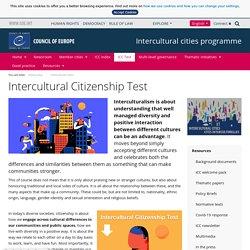 Intercultural Citizenship Test