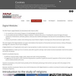 Modules numériques et pédagogiques sur les religions