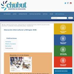 Educación Intercultural y Bilingüe (EIB). Publicaciones