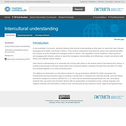 2 Intercultural understanding - Introduction