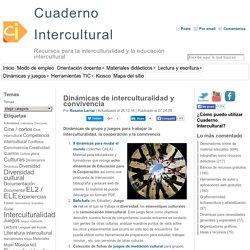 Dinámicas de interculturalidad y convivencia