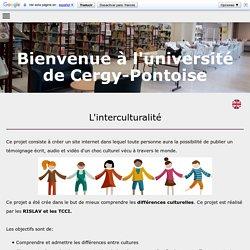 L'Interculturalité - Licence Professionnelle RISLAV Université Cergy-Pontoise