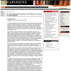 L´interculturalité à l´épreuve de l´Internet : le cas de la francophonie