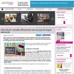 Interculturel : travailler efficacement avec les pays de langue allemande