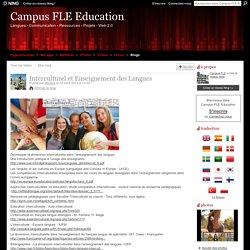 Interculturel et Enseignement des Langues