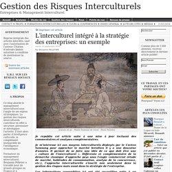 L'interculturel intégré à la stratégie des entreprises: un exemple