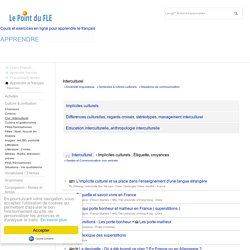Interculturel - Gestes français - Stéréotypes - Management interculturel - France business etiquette