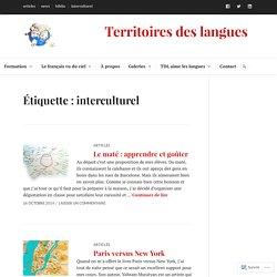 interculturel – Territoires des langues