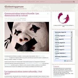 Communication interculturelle : Les dimensions de la culture - Globestoppeuse