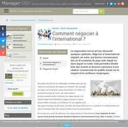 Négociations internationales et interculturelles : bonnes pratiques