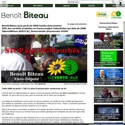 Benoît Biteau nous parle de OGM Cachés dans environ 30% des variétés produites en France malgré l'interdiction qui date de 2008