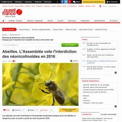 Abeilles. L'Assemblée vote l'interdiction des néonicotinoïdes en 2016