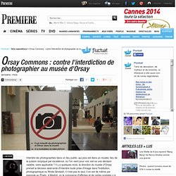 Orsay Commons : contre l'interdiction de photographier au musée d'Orsay