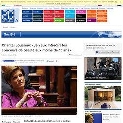 Chantal Jouanno: «L'hypersexualisation accélère la régression de la cause féminine»
