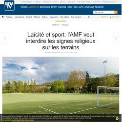 Laïcité et sport: l'AMF veut interdire les signes religieux sur les terrains