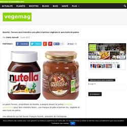 Nutella : Ferrero veut interdire une pâte à tartiner végétale et sans huile de palme