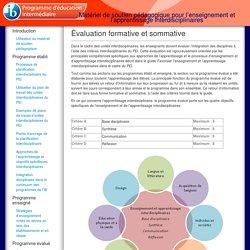 Matériel de soutien pédagogique pour l'enseignement et l'apprentissage interdisciplinaires
