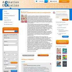 Revue pédagogique de l'OCCE - Pratiques interdisciplinaires dans les enseignements