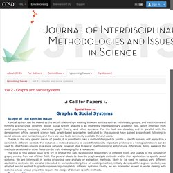 Journal of Interdisciplinary Methodologies and Issues in Sciences - Vol 2 - Graphs and social systems