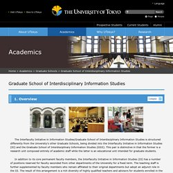 Graduate School of Interdisciplinary Information Studies