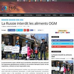 La Russie interdit les aliments OGM