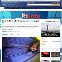 Santé : le Sénat interdit les cabines de bronzage à UV