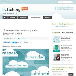 15 interesantes recursos para la Educación Cívica