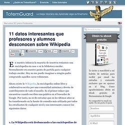 10 datos interesantes que profesores y alumnos desconocen sobre Wikipedia