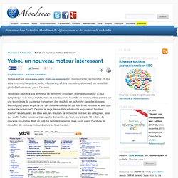 Yebol, un nouveau moteur intéressant - Abondance : Référencement