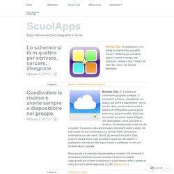 Apps interessanti per insegnanti e alunni